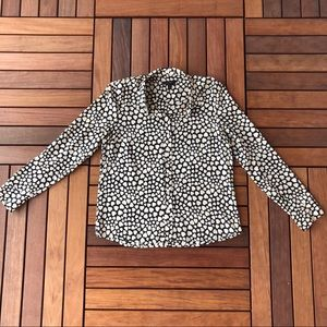 J. Crew Silk Heart Blouse 12